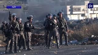 إصابة العشرات خلال مواجهات بين الفلسطينيين وجنود الاحتلال - (23-2-2018)
