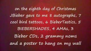 The Justin Bieber Days of Christmas
