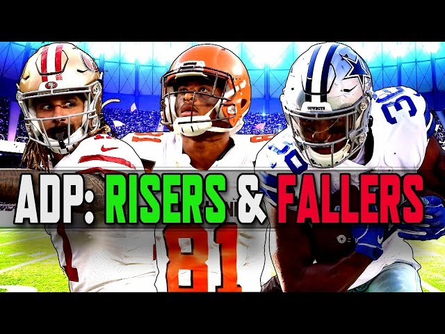 Fantasy Football 2019: ADP risers and fallers | NFL | NBC Sports
