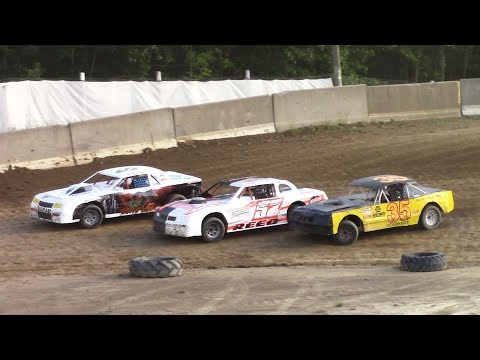 Pure Stock Heat Three | Old Bradford Speedway | 7-9-17