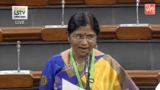 ysrcp anakapalle mp satyavathi excellent speech in lok sabha ap cm ys jagan yoyo tv