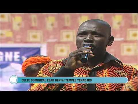 Chorale Benin sur Television nationale culte dominical Eglise Assemblée de Dieu Temple de Yenadjro B