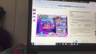 Shopkins season 10 Small Mart Shopping Cat Pink reviews 💖🍩