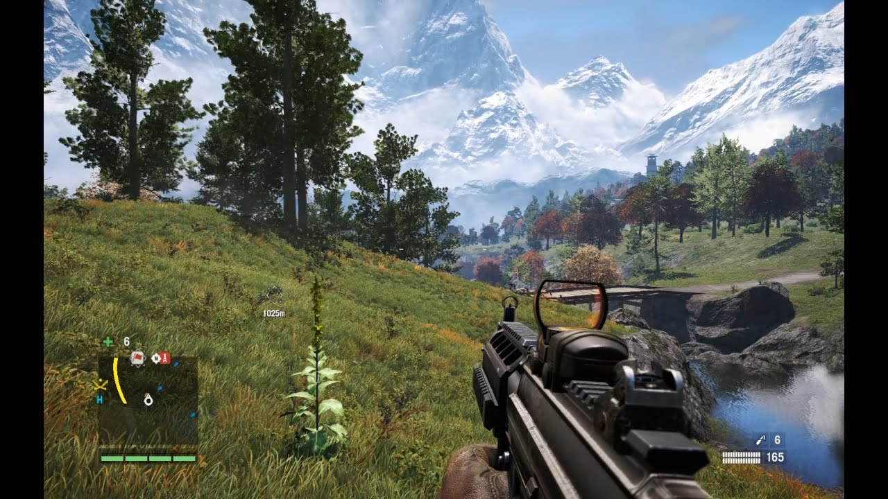 Far Cry 4 Pc Gameplay Max Settings Youtube