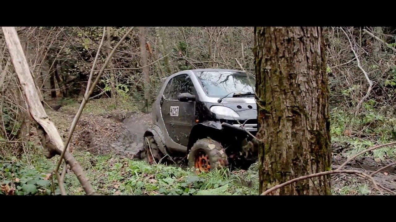 smart fortwo offroad crazy