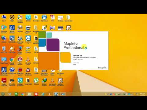 MAPINFO 2G REPORT MAKING AFTER DRIVETEST (HINDI)