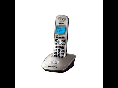 телефон трубка Panasonic KX-TG2511RU, нет гудков, ремонт.