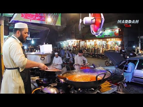 PAKISTANI STREET FOOD MARDAN