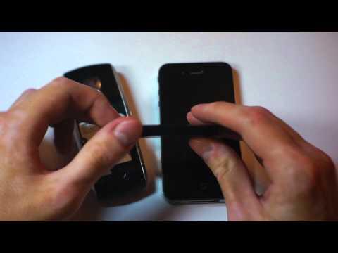 iPhone 4 vs Samsung x-700