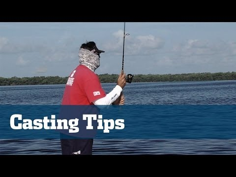 Casting Skills Accuracy Tarpon Mangroves - Florida Sport Fishing TV Pros Tip