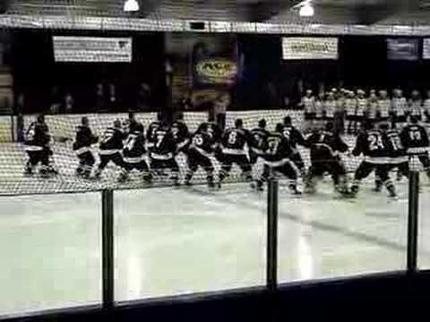 Ice Blacks Haka 2008 IIHF World Championships