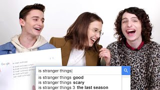 Download Millie Bobby Brown, Finn Wolfhard & Noah Schnapp Answer the Web's Most Searched Questions | WIRED Mp3 and Videos