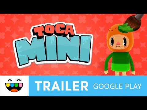 Get Creative | Toca Mini | Google Play Trailer | @TocaBoca