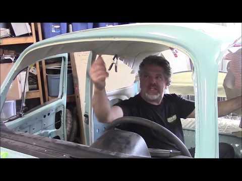 1974 Volkswagen Super Beetle Blue Restoration Update, Headliner Part 1, lastchanceautorestore com