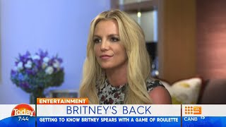 Britney Spears - Roulette Interview (Today Show Australia 2016) [HD]