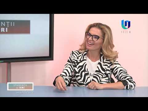 TeleU: Ovidiu Șandor la emisiunea Studenții de ieri cu Silvia Gherasim