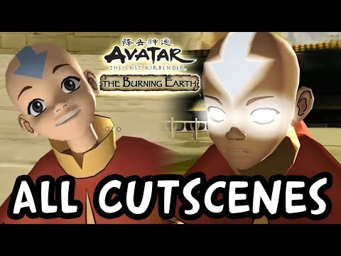 Avatar The Last Airbender: Burning Earth All Cutscenes | Full Game Movie (X360, PS2, Wii)