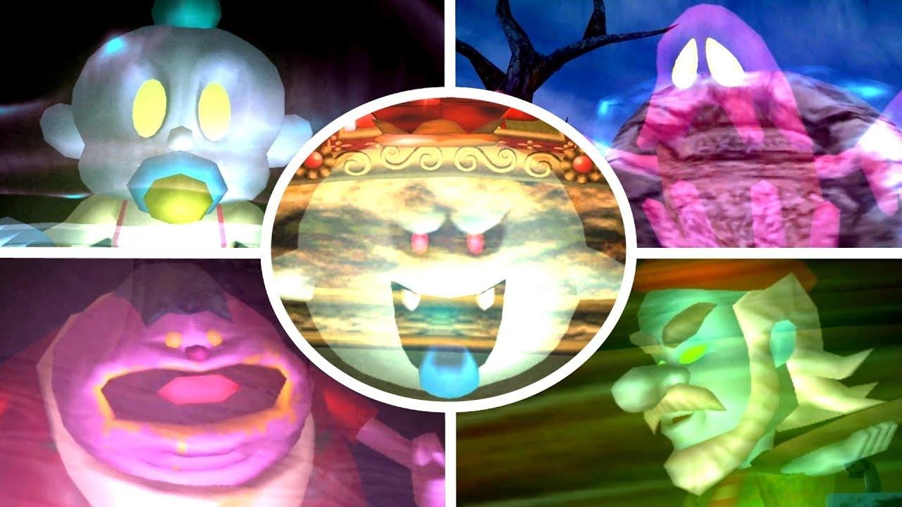 Luigi S Mansion All Portrait Ghosts Bosses No Damage