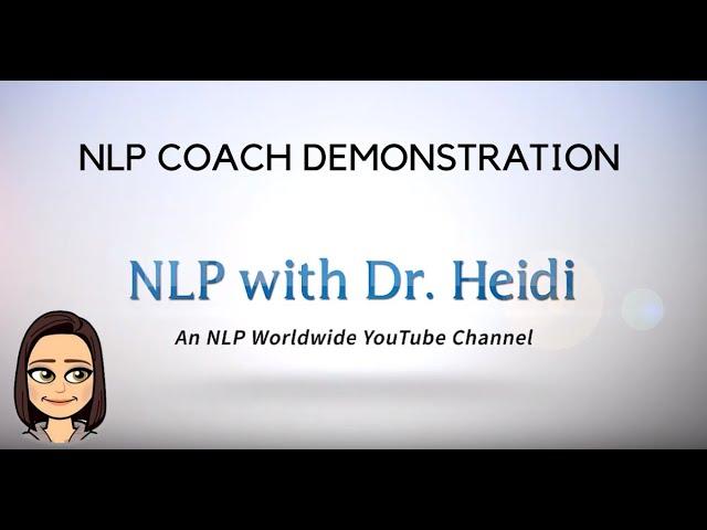 NLP Coach Demonstration Part 1 - December 2019