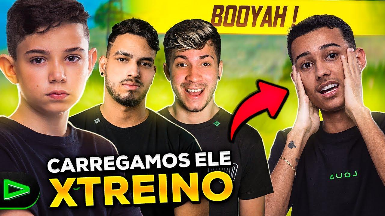DEMOS BOOYAH EM 3 NO XTREINO!