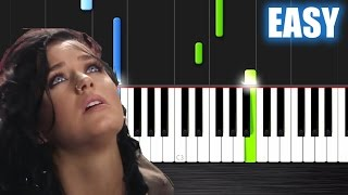 Katy Perry - Rise - EASY Piano Tutorial by PlutaX