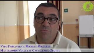 16-07-2013: Miccolis e Primavera presentano la Materdominivolley.it 2013-2014