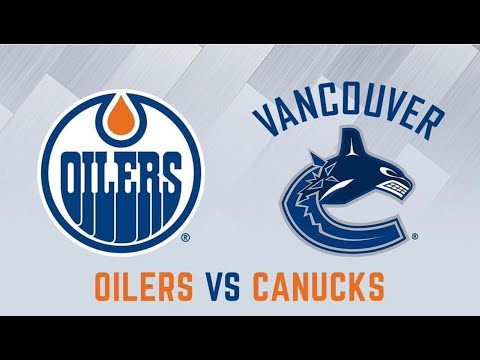 Vancouver Canucks Vs Edmonton Oilers POV Game Montage 09.30.17