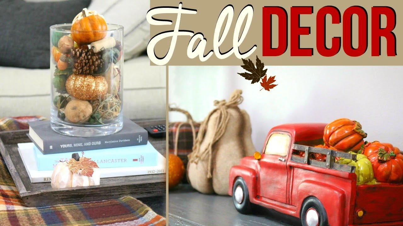 fall home decor 2017 decorate with me for fall 2017 diy fall home decor 10847