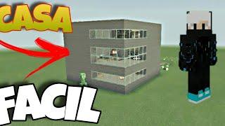 Casa survival fácil Minecraft Tutorial #1 YouTube