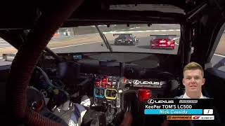 KeePer TOM'S LC500 OnBoard / 2018 AUTOBACS SUPER GT Rd.8 thumbnail