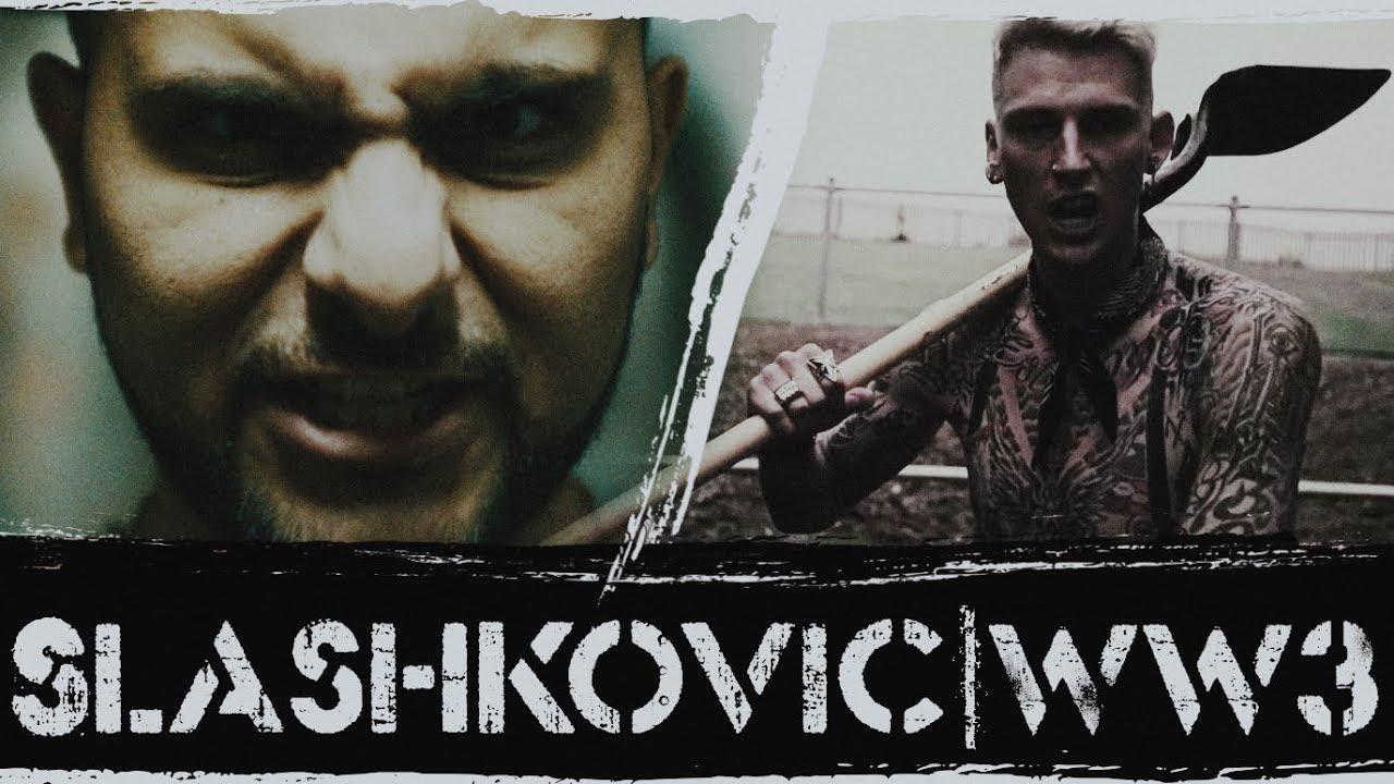 ' MGK diss ' Slashkovic - World war 3 ( prod. Globeats ) ( MGK Diss )