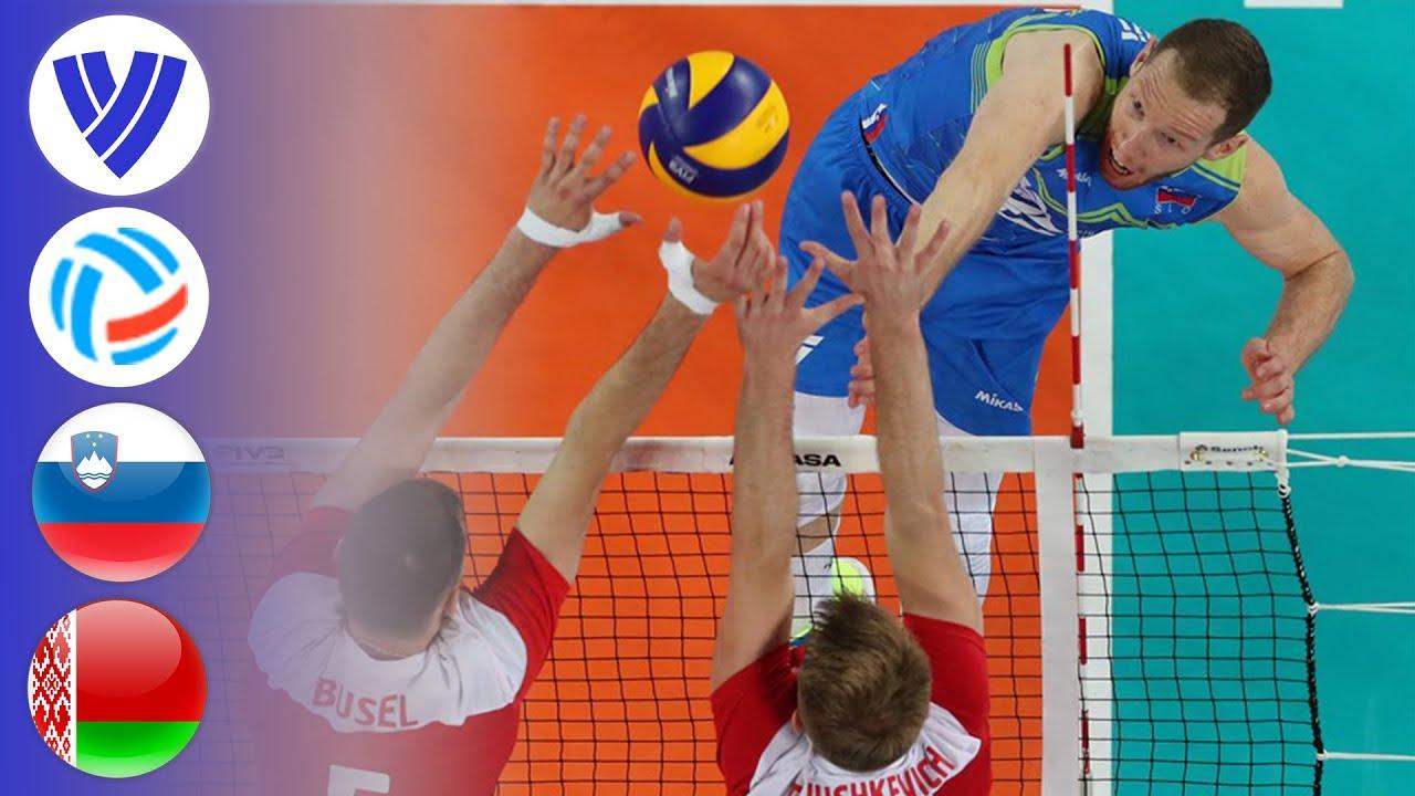 Slovenia vs. Belarus - Full Match | Semifinal | Men's Volleyball Challenger Cup 2019