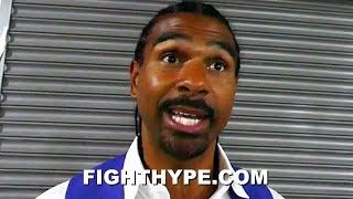 DAVID HAYE REACTS TO DILLIAN WHYTE'S VICTORY OVER JOSEPH PARKER: