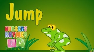 JUMP AND JIGGLE | Nursery Rhymes TV. Toddler Kindergarten Preschool Baby Songs.