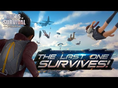 PROTECT THE G IN BATTLE ROYALE! | Rules of Survival