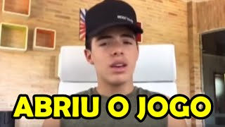 Thomaz Costa ABRE O JOGO sobre a TRETA com João Guilherme e Larissa Manoela  que teve c0fad0bcb6