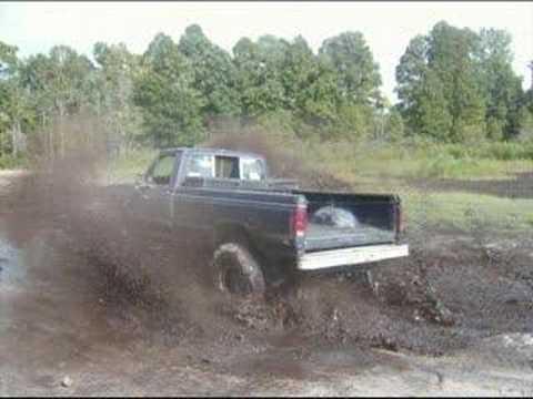 1984 ford f150 mud truck - YouTube