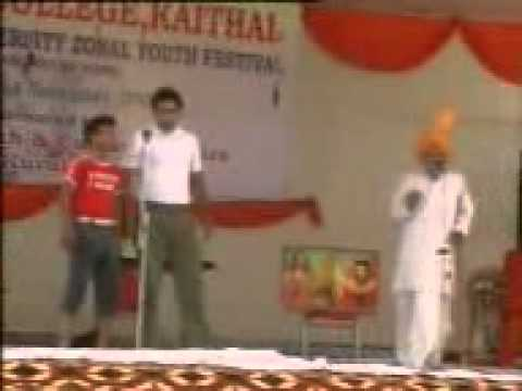 Funny Comedy Video In RKSD College  Kaithal {HARYANA}