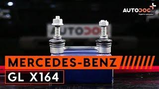 Come cambiare Kit ganasce freno MERCEDES-BENZ GL-CLASS (X164) - video tutorial