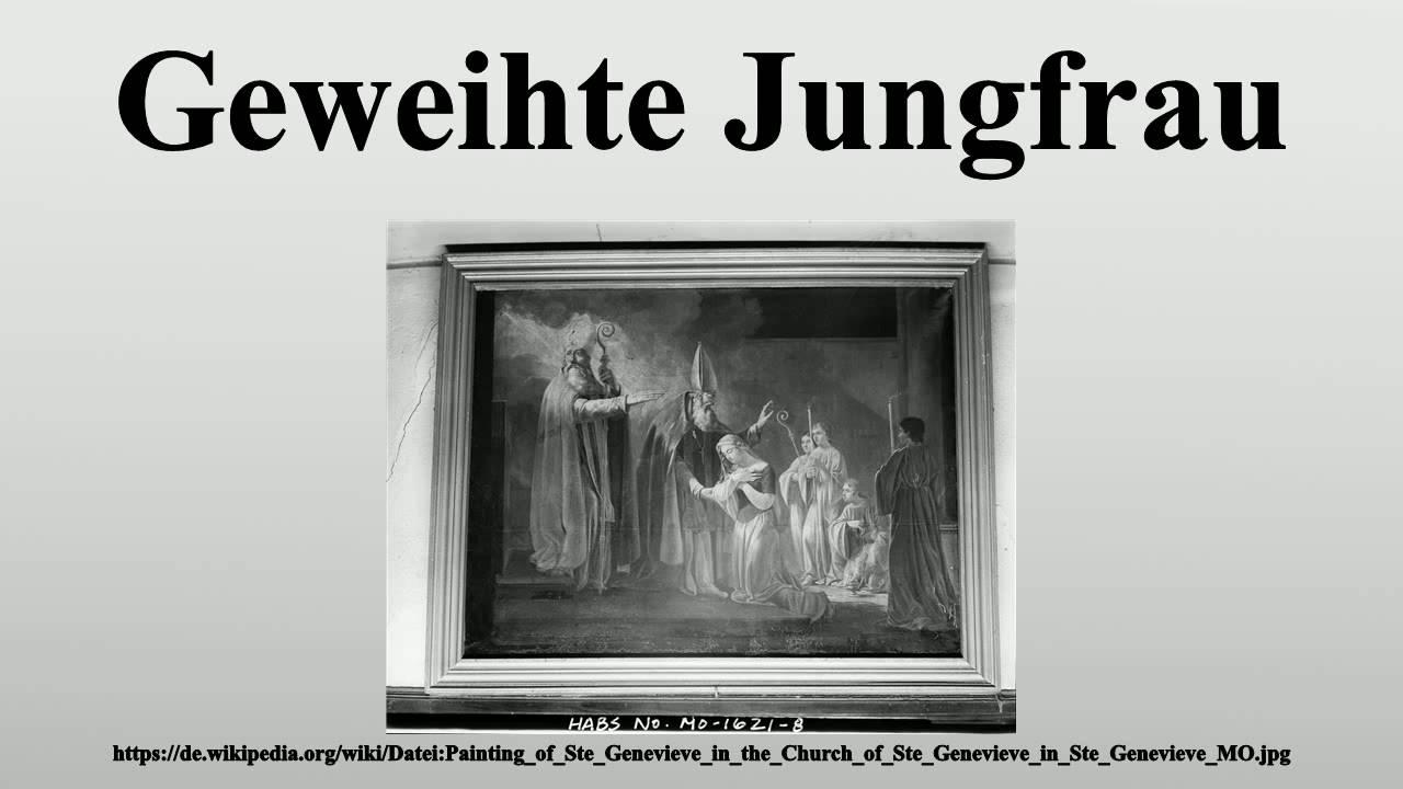 Geweihte Jungfrau