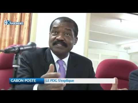 GABON POSTE  : LE PDG S'explique