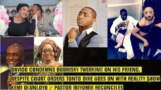 Davido Condemns Bobrisky Twerking On His Friend, Tonto Dike Ignores Court, Goes On With Reality Show