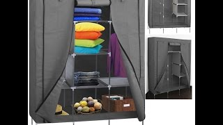 Portable Storage Organizer Wardrobe Closet
