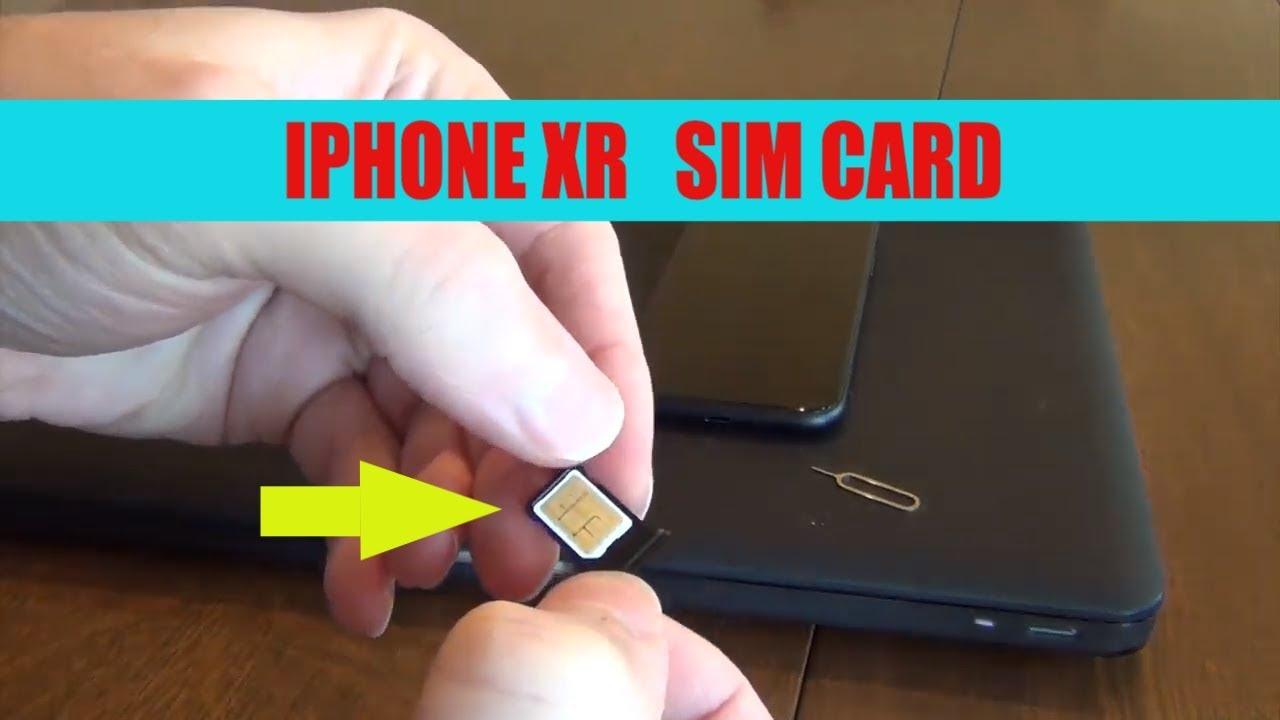 iPhone XR Sim Card Transfer -super easy