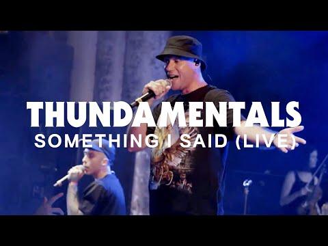 Something I Said (Live)