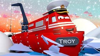 Buz Kırıcı Tren Tina'yı Boğulmaktan Kurtarıyor