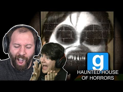 NO ESCAPE FROM THIS PLACE... | GMod Horror Maps: Haunted House of Horrors Part 1