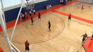 2-3 Zone Defense Drill #2