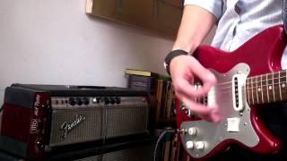 Скачать 1960s Guyatone Japanese Guitar LG65T Review Demo
