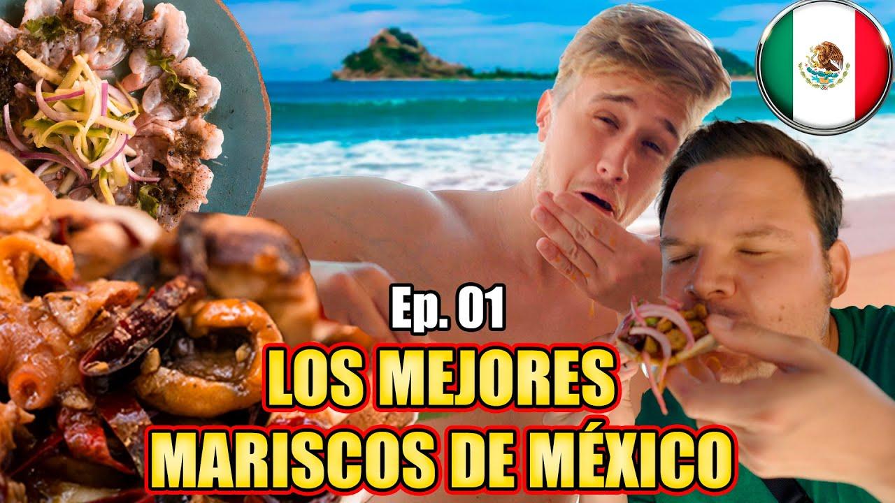 NUNCA PROBÉ MARISCOS MEXICANOS ASÍ 🦐 Mariscos Estilo Sinaloa 🇲🇽 Los MEJORES MARISCOS de MÉXICO